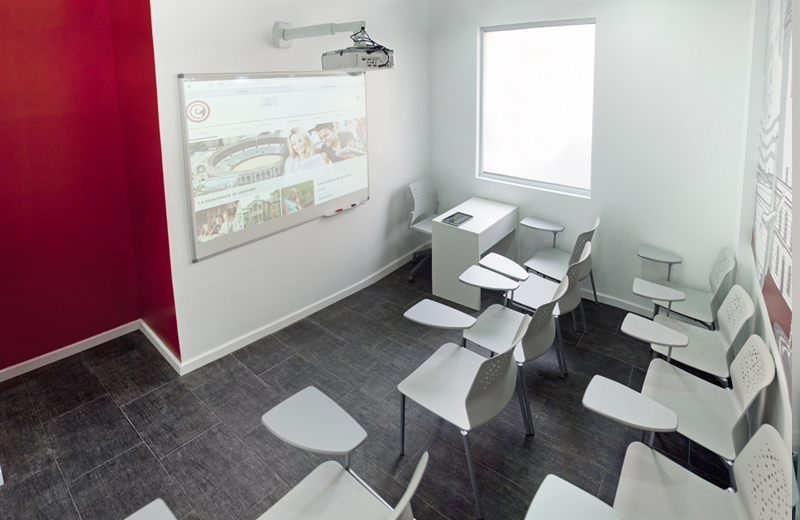 classroom nr. 2 of language school in Málaga